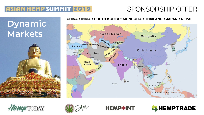 アジアヘンプサミットの協賛企業を募集!